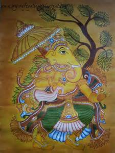 my craft gallery kerala mural painting