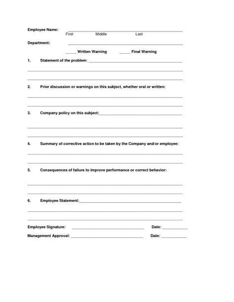 business write up forms write up form template business