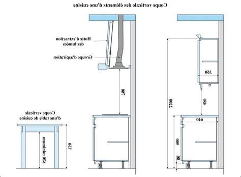 dimensions plan de travail cuisine plan meuble cuisine elements bas start meuble bas de