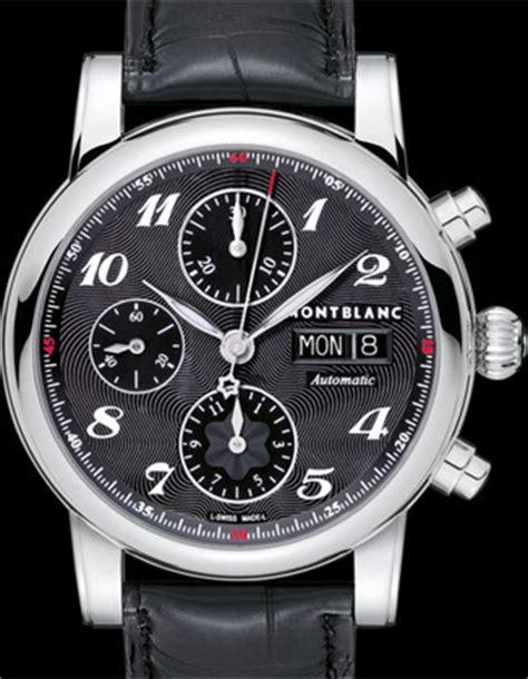 prix montre montblanc flyback