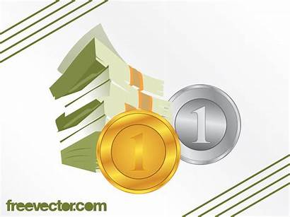 Dollar Cents Bills Vector Bill Hundred Freevector