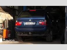BMW X5 E53 m62b44 Exhaust tuning YouTube