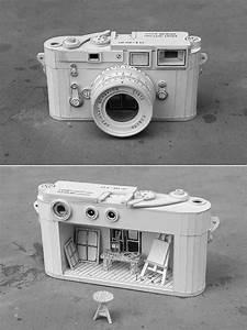 Ordinary behavior cardboard electronics containing absurd for Ordinary behavior cardboard electronics containing absurd miniature dioramas
