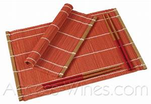 Set De Table En Bambou : set de table en bambou ~ Premium-room.com Idées de Décoration