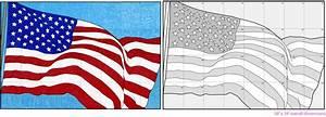 Us Flag Diagram