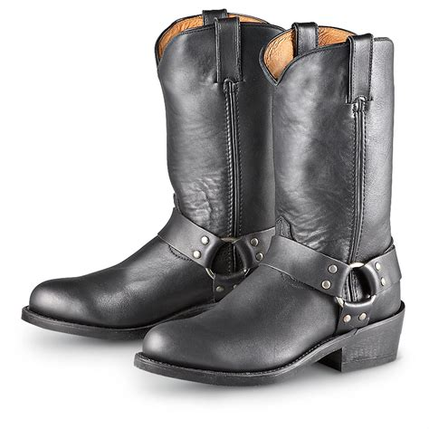 motorcycle in boots road wolf dominator harness boots black 193724