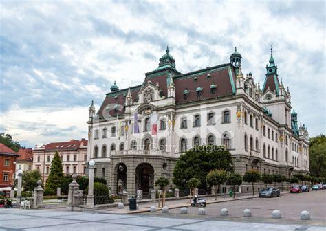 home exterior design upload of ljubljana in slovenia stock photos
