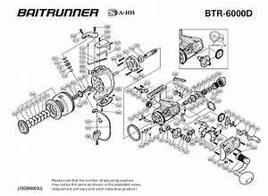 Zebco 33 Reel Parts Diagram