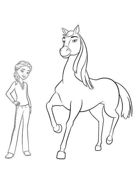 Kleurplaat Paarden Spirit by N Kleurplaat Spirit Free Chica Pru