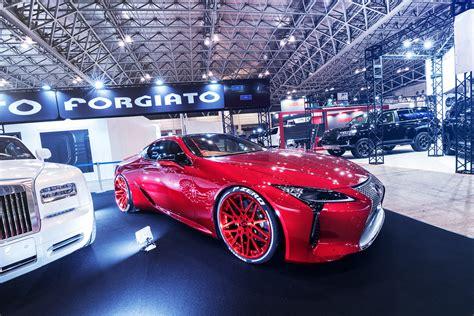 forgiato takes    tokyo auto salon