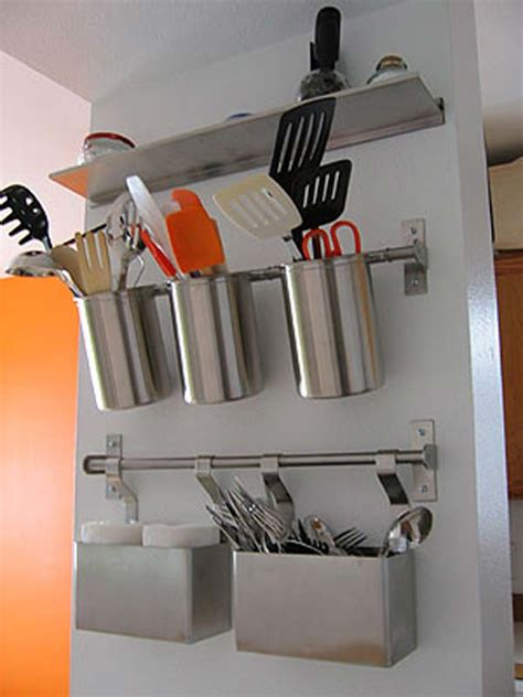 kitchen wall storage solutions top 27 clever and diy cutlery storage solutions 6439