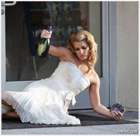 funny drunk brides pictures