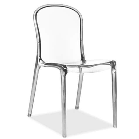 chaise en polycarbonate chaise fara polycarbonate transparent achat vente