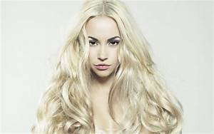 Long Blonde Hair Model Full HD Pictures