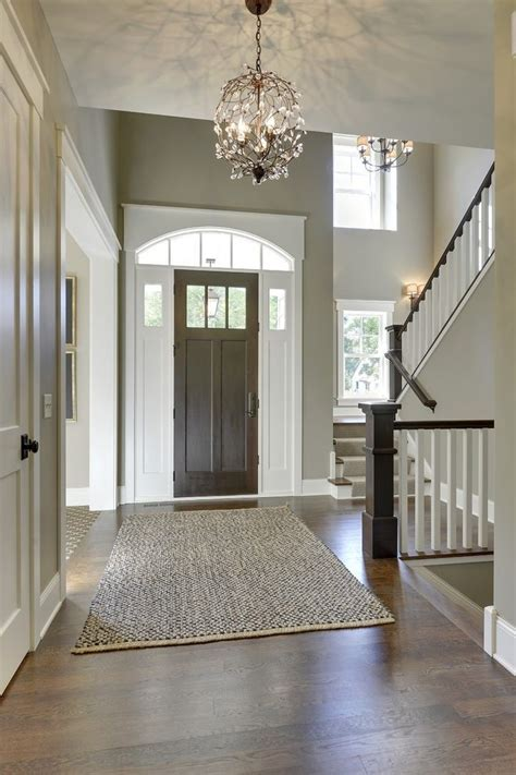 foyer paint ideas entry traditional with capped baseboard