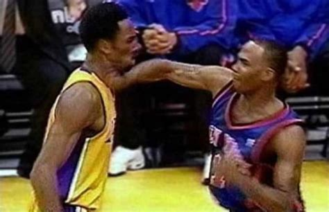 chris childs remembers epic fight  kobe bryant