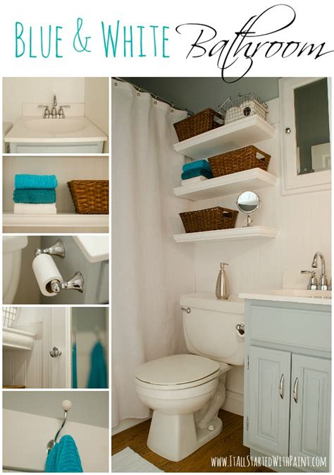 Bathroom Ideas Blue And White by Blue And White Bathroom Small Space Solutions