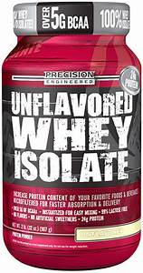 Precision Engineered Unflavored Whey Isolate Protein Powder