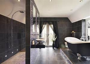 carrelage salle de bains et 7 tendances a suivre en 2015 With carrelage adhesif salle de bain avec eclairage led douche