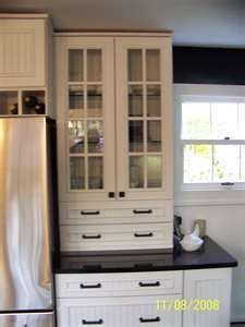 image result  upper cabinets  sit  counter