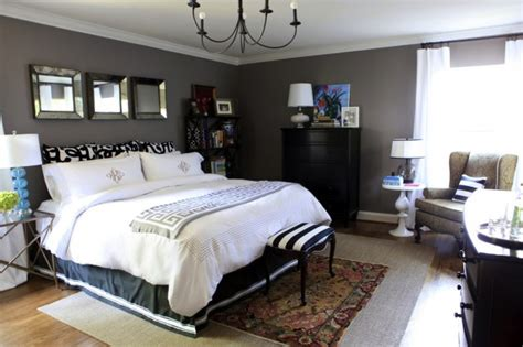 how to decorate with gray walls bedroom decorating painted charcoal gray walls0white bedding black dresser decorating ideas