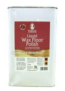 tableau liquid wax wood floor polish 5 litre suitable for