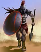 Spartan Warrior by aka...