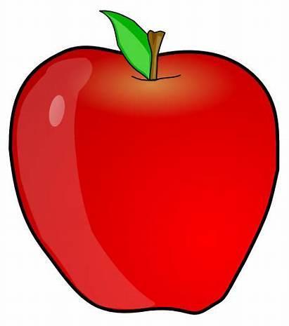 Apple Aa Clipart Letters Single Bb Abc