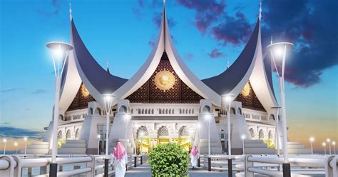 sayembara masjid kota pariaman  inspirasi desain