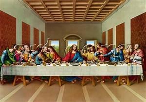 Leonardo da Vinci the picture of the last supper painting ...