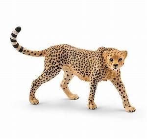 Schleich 14746 Cheetah Female Wild Animal Big Cat Model