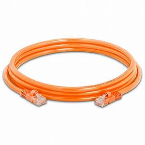 350 Mhz Rj 45 Cat5e Poe Patch Cable Orange