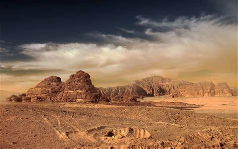 wallpaper landscape mountains sunset hill rock sand