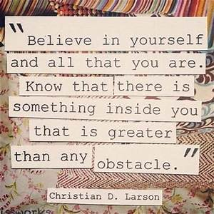 Believe In Yourself Quotes & Sayings | Believe In Yourself ...