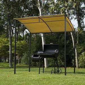 überdachung Für Grill : bbq pavillon mit flammschutzdach grill ~ Lizthompson.info Haus und Dekorationen