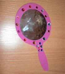Spiegel Zum Basteln by Prinzessinnenparty Spiegel Basteln Bastelidee M 228 Rchen