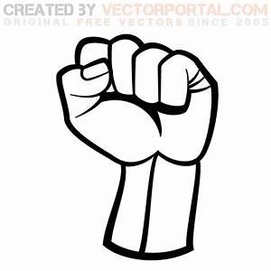 Raised fist get this
