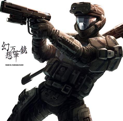 Halo 3 Odst By Awakening Scarlet On Deviantart