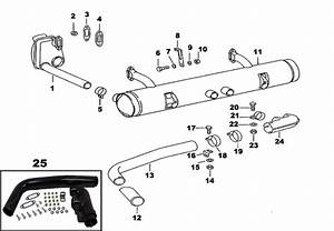 Porsche 912 Exhaust And Heating System Including Mufflers And Heat Exchangers