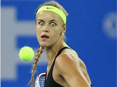Gallery tennis players pull the funniest faces