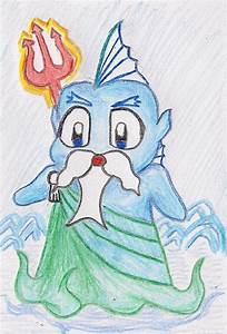 Poseidon chibi by Billytheretired on DeviantArt