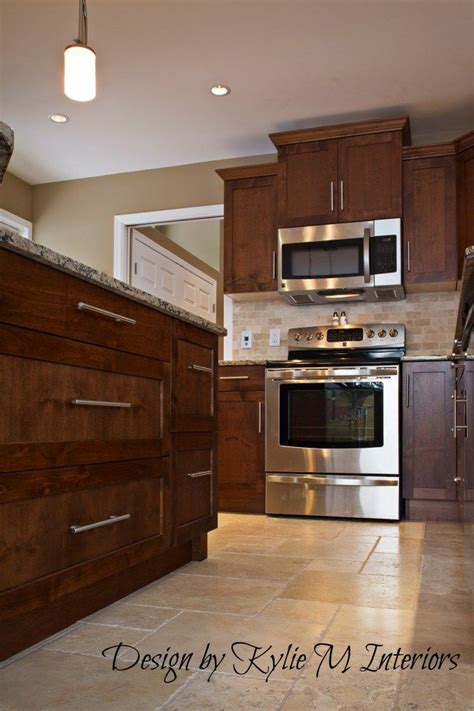 Decorating Ideas For Kitchen With Cherry Cabinets by Decorating Kitchen Remodel With Cherry Cabinets Travertine