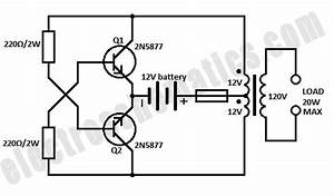 12v Dc To Ac Converter Circuit Diagram Free Download