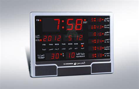 grande horloge pour mosqu 233 es avec calcul automatique et affichage des heures de pri 232 res
