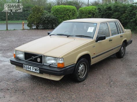 volvo co volvo 740 gl auto 1985 south western vehicle auctions ltd