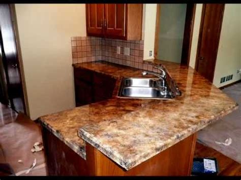 kitchen counter top resurfacing by all american decorative