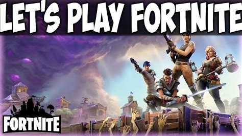 fortnite  game lets play coming  youtube
