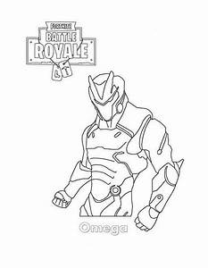 Free Printable Fortnite Coloring Pages