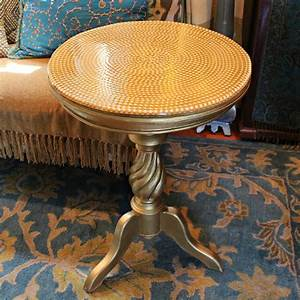 Pearl, And, Resin, Table, Makeover, U00b7, How, To, Make, A, Side, Table, U00b7, Decorating, On, Cut, Out, Keep