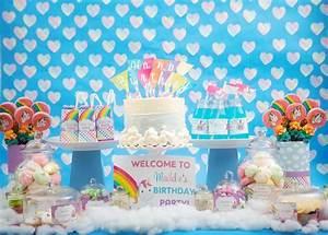 Rainbow Unicorn Theme PARTY FEATURE